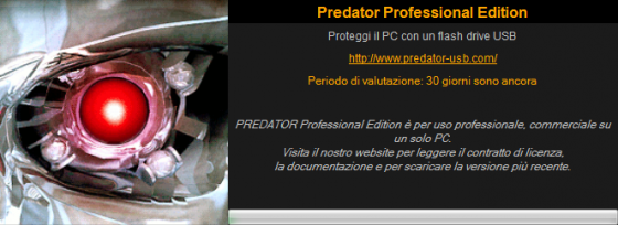 predator free lock usb pc