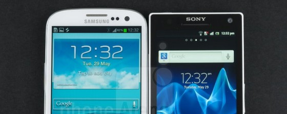 sonyxperia s vs galaxy siii