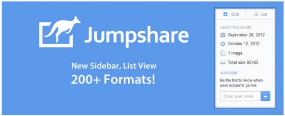 Jumpshare banner