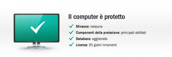 kaspersky attivato