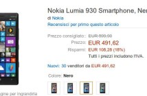 Nokia Lumia 930 scendono i prezzi
