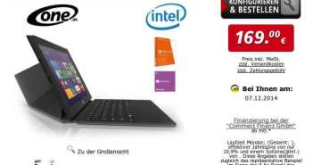 ONE Xcellent 10 Tablet Windows a 169€
