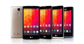 LG presenta 4 nuovi smartphone