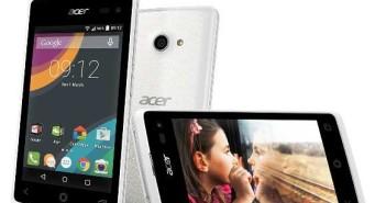 Acer Liquid Jade Z, Liquid Z220 e Liquid Z520 ufficiali da 89 euro