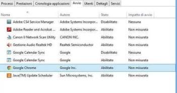 Windows: come disabilitare avvio programmi in automatico