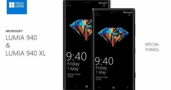 Lumia 940 e Lumia 940 XL rumors nuovi top gamma Microsoft