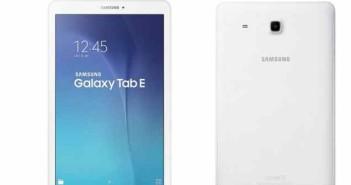 Samsung Galaxy Tab E 9.6 disponibile in Italia da 179€