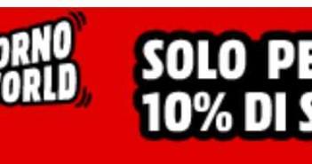 Mediaword sconto 10% su smartphone e accessori