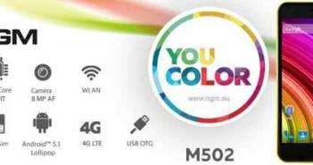 NGM You Color M502 ufficiale