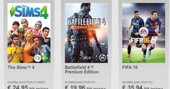 Videogiochi Black Friday sconti fino al 75% su Origin