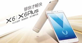 Vivo X6 e X6 Plus ufficiali: caratteristiche e prezzi