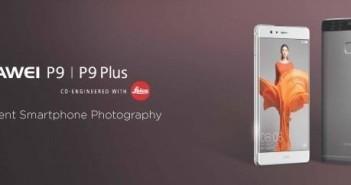 Huawei P9 e P9 Plus ufficiali