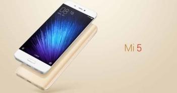 Xiaomi Mi 5 sbarca in India, specifiche tecniche