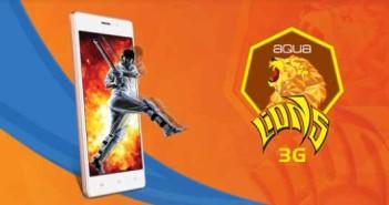 Intex Aqua Lions 3G ufficiale