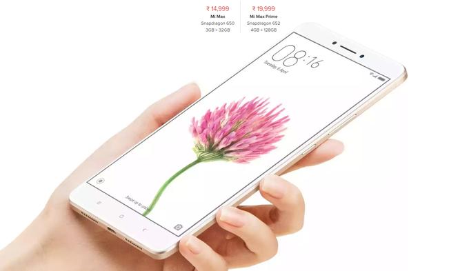 Xiaomi Mi Max Prime dettagli e prezzi ufficiali
