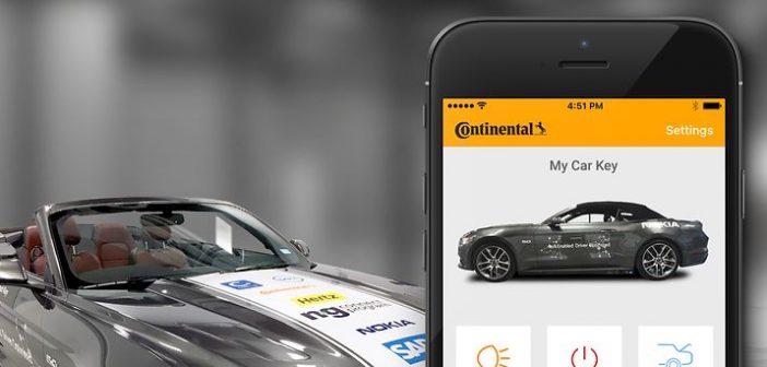 car sharing key as a service