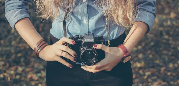 macchina fotografica professionale