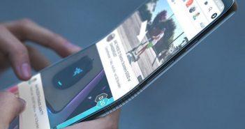Samsung schermo flessibile
