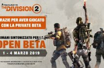 Beta pubblica the division 2