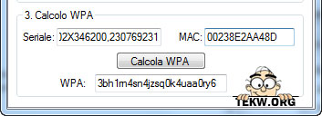 calcolo WPA alice Alice WPA Calculator, trovare la WPA dei router Alice ADSL | Guida e Download
