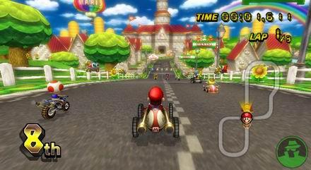 I migliori 10 videogames per nintendo wii for Coupe miroir mario kart wii