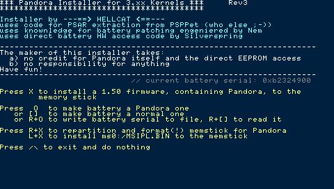 Psp Installer V 0.1
